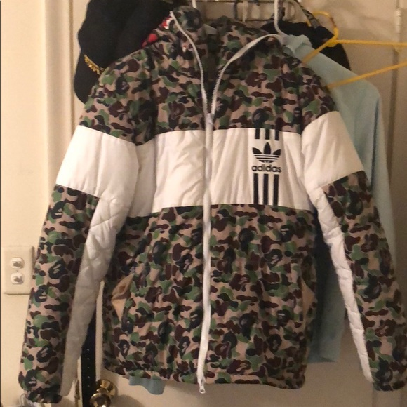 47d67631acab adidas Other - Bape x Adidas ID96 Down Jacket